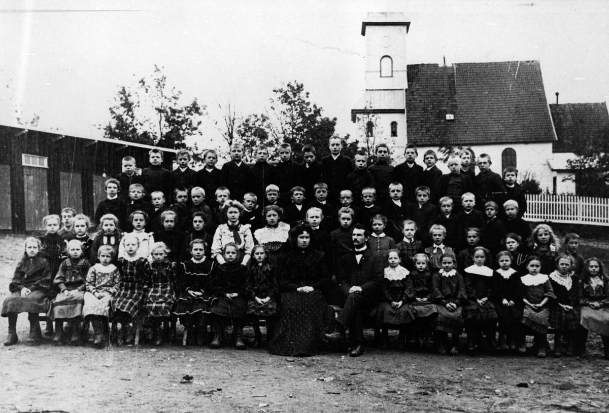 Skolebilde fra Hammer skole.