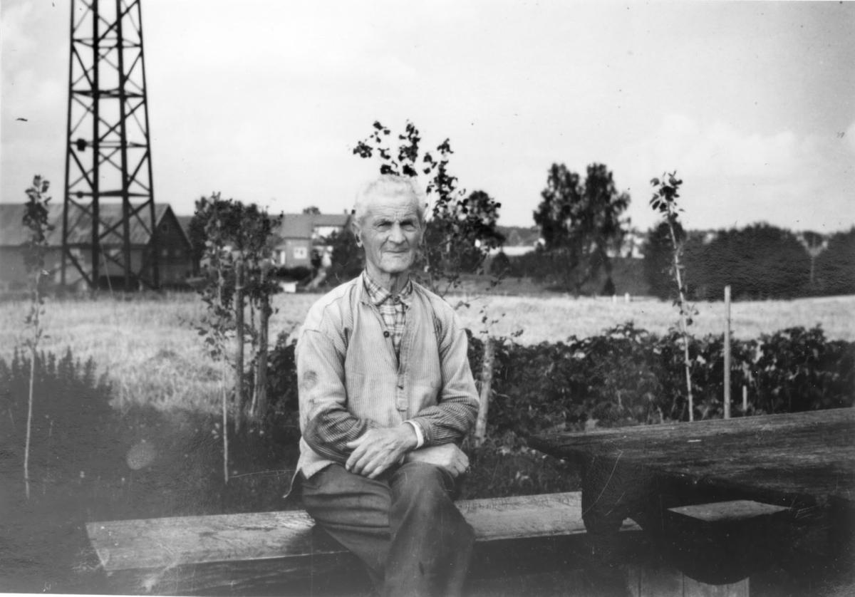 Tidligere vegvokter Albert Frydenlund.