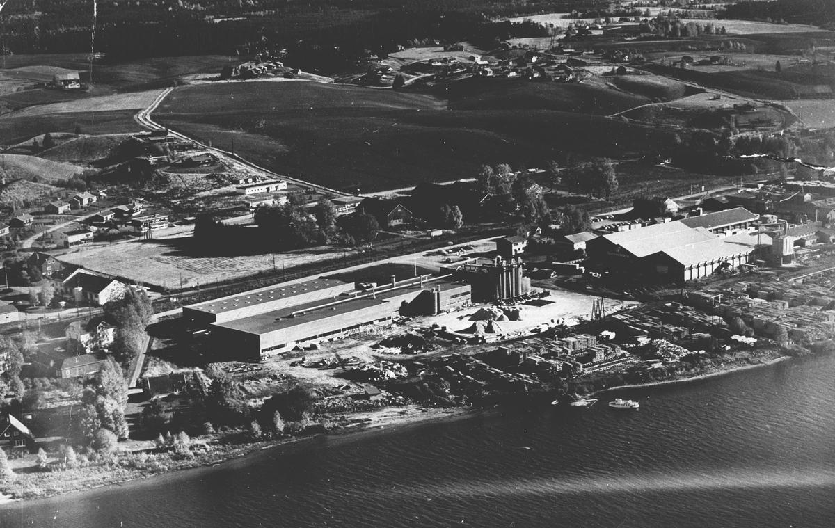 Industriområde - Årnes sør, flyfoto