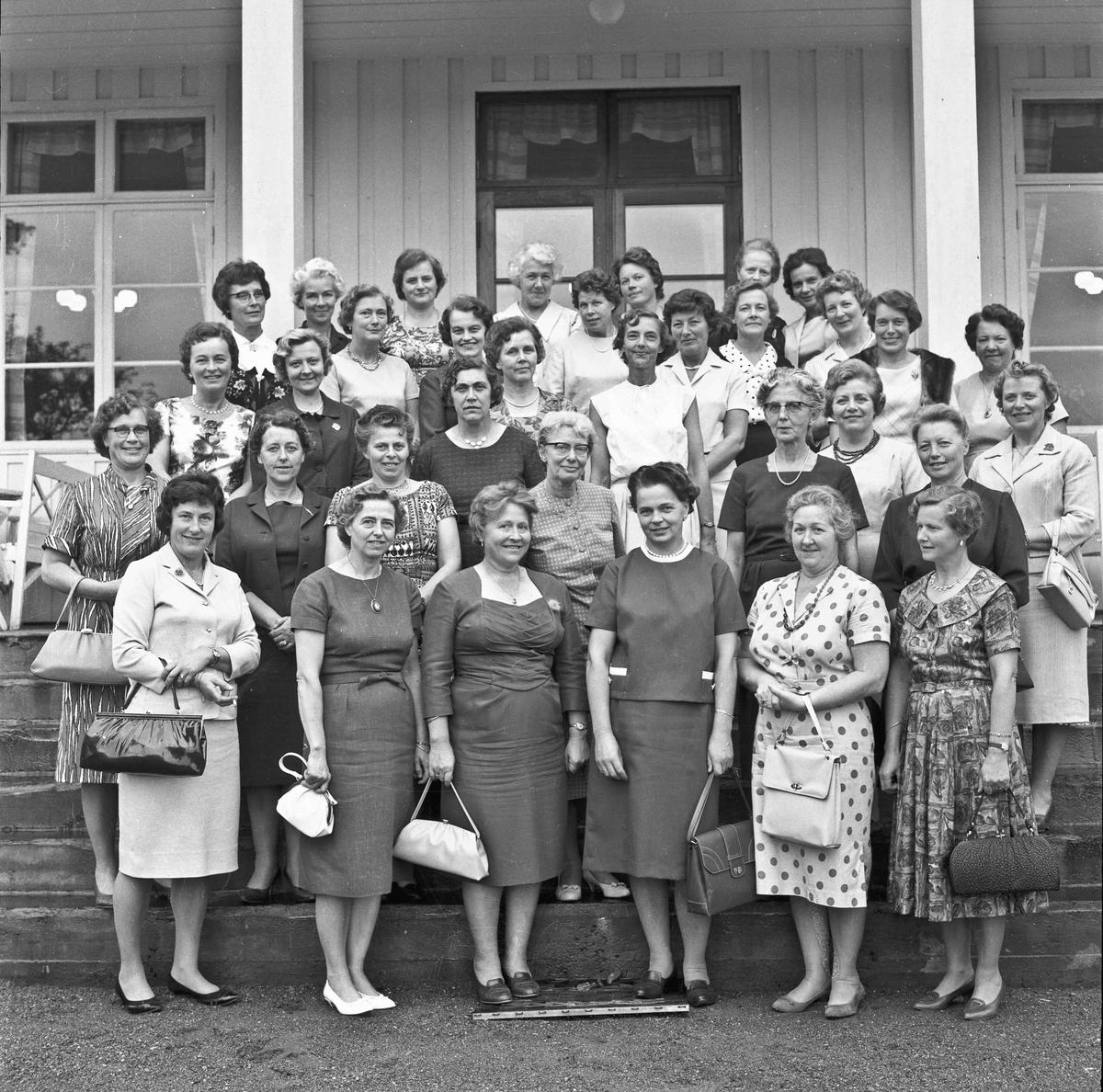 Husmorskolens 25-årsjubileum i 1964.