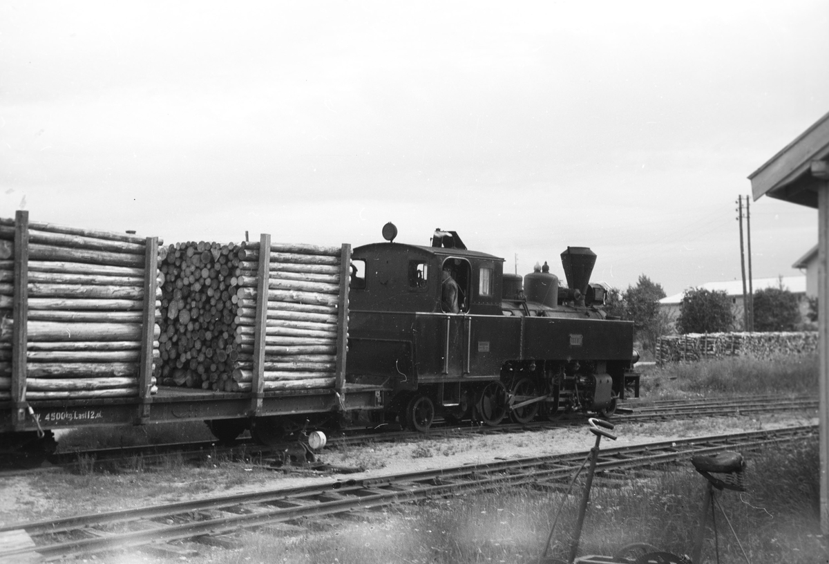 Tog 2051 retning Skulerud skifter på Lierfoss stasjon.