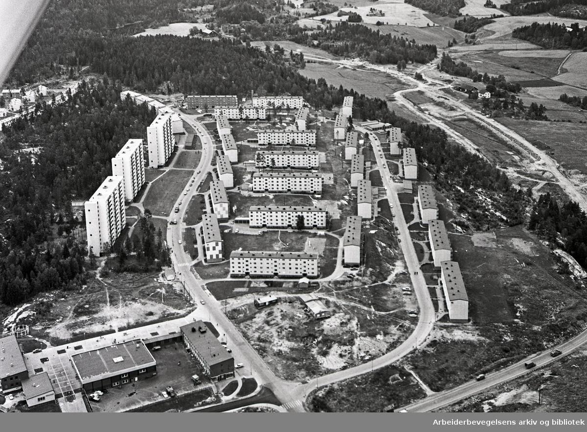 Flyfoto over Bøler,.september 1961