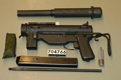 MP .45 ACP M3A1 (lyddempet)