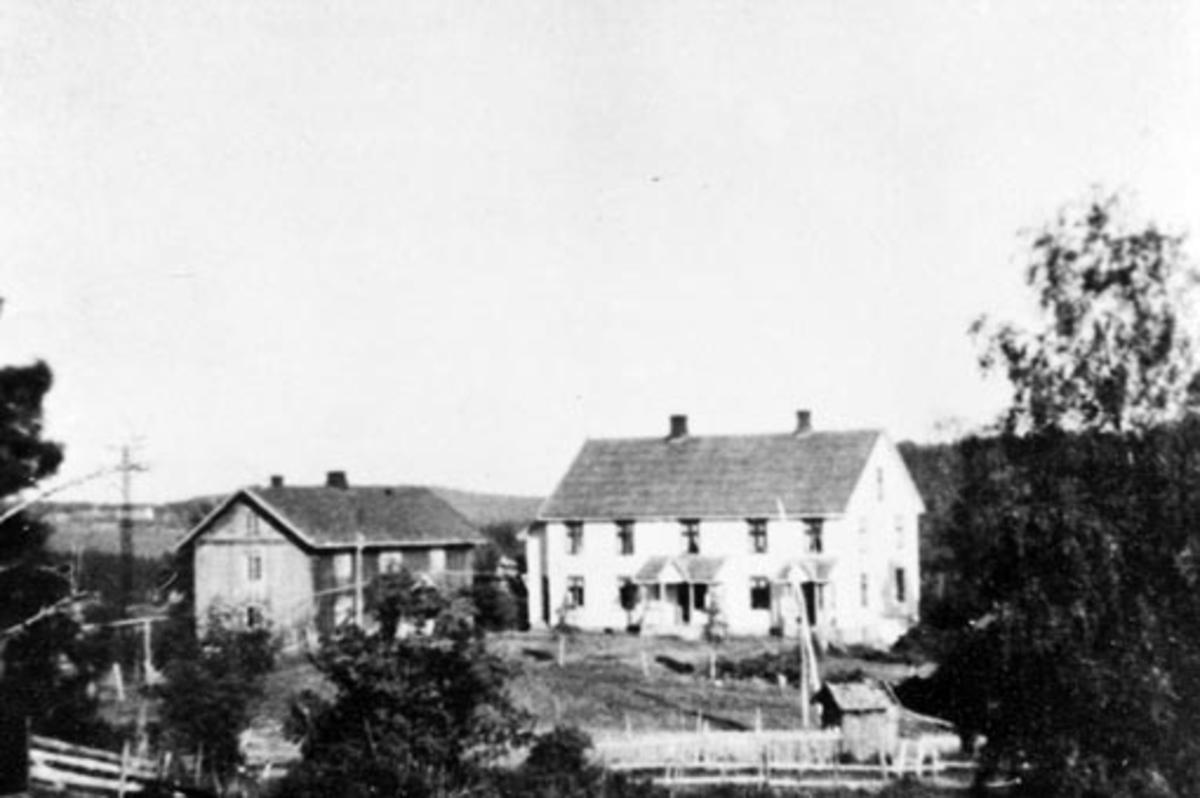 Eksteriør, gardsbruk, Skjerven, Stavsjø, Hedmark.