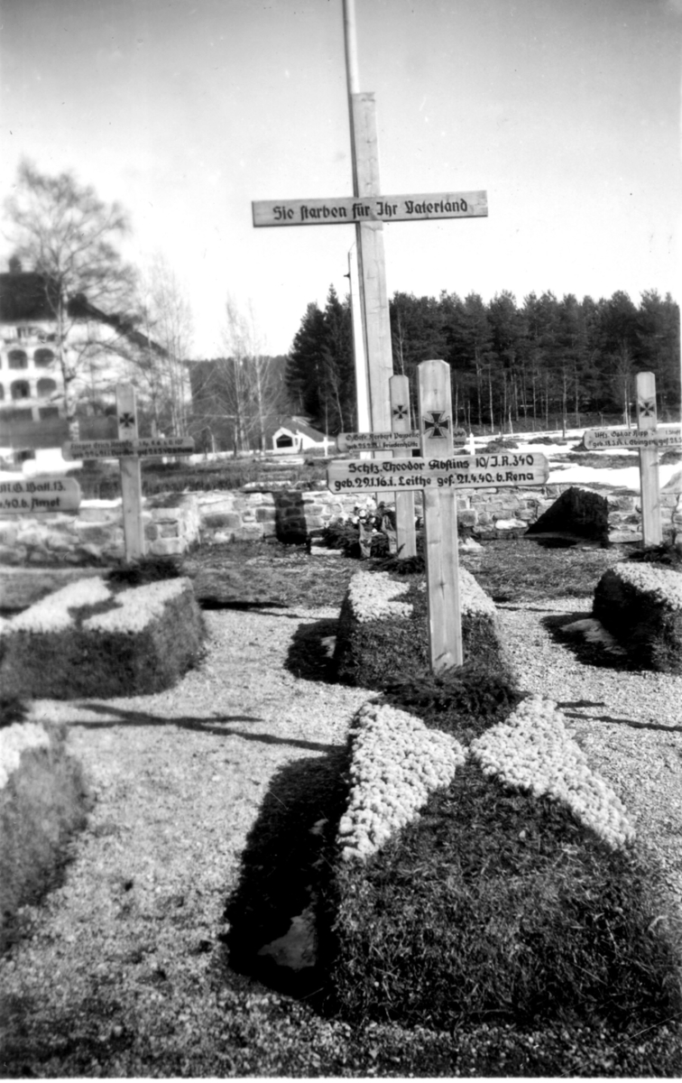 Tysk kirkegård