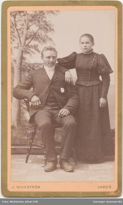 Dobbeltportrett, Brede og Elisabeth Barosen