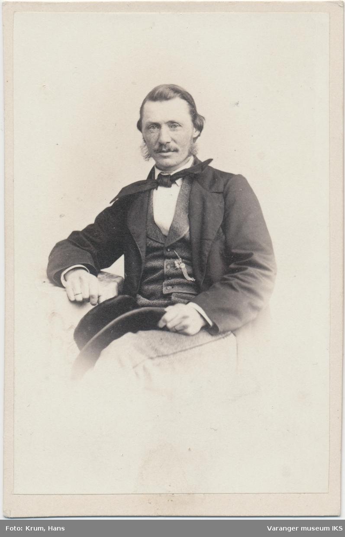 Portrett, Marcus Wøldike Noodt, ca. 1870