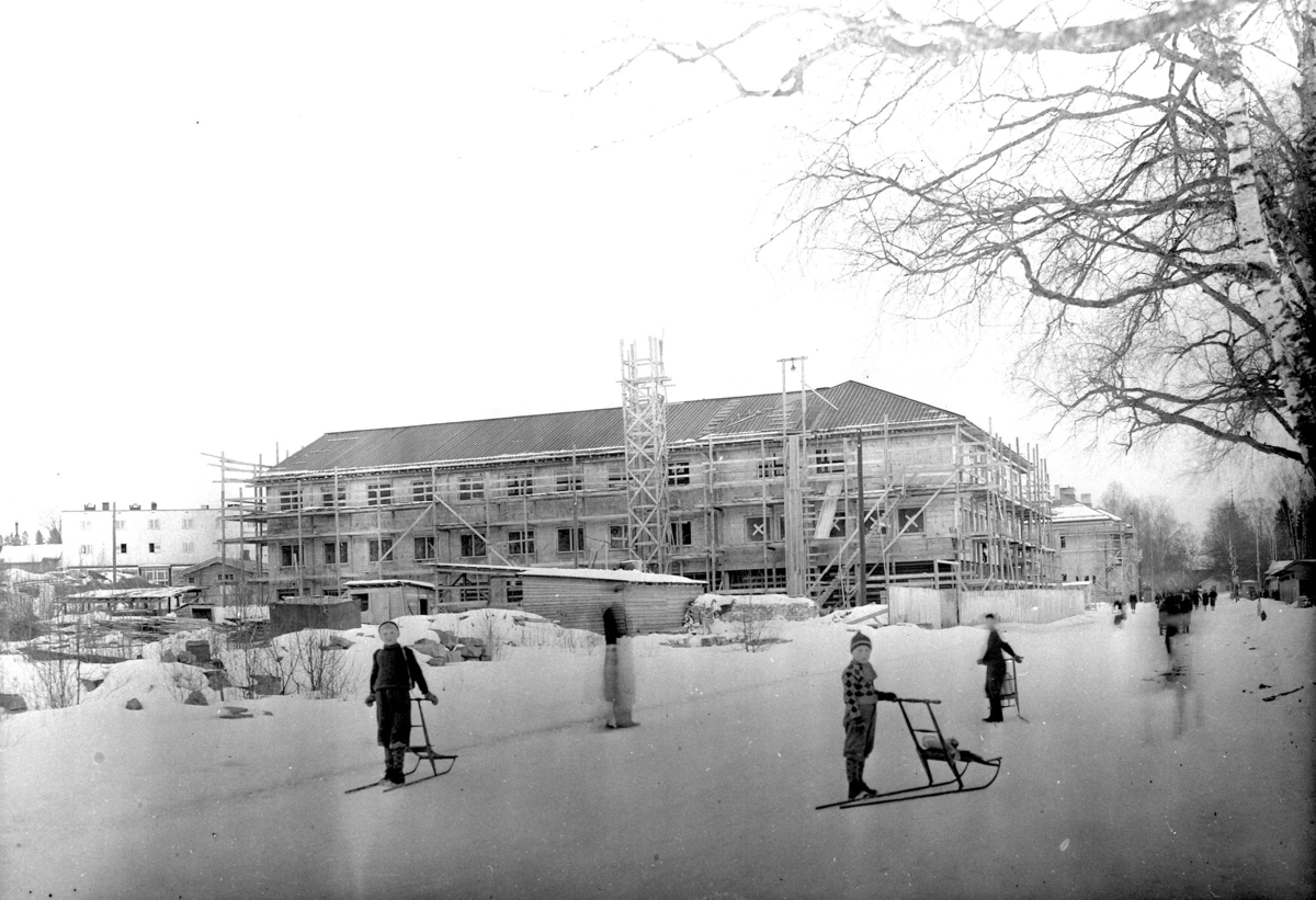 Borgen-under bygging