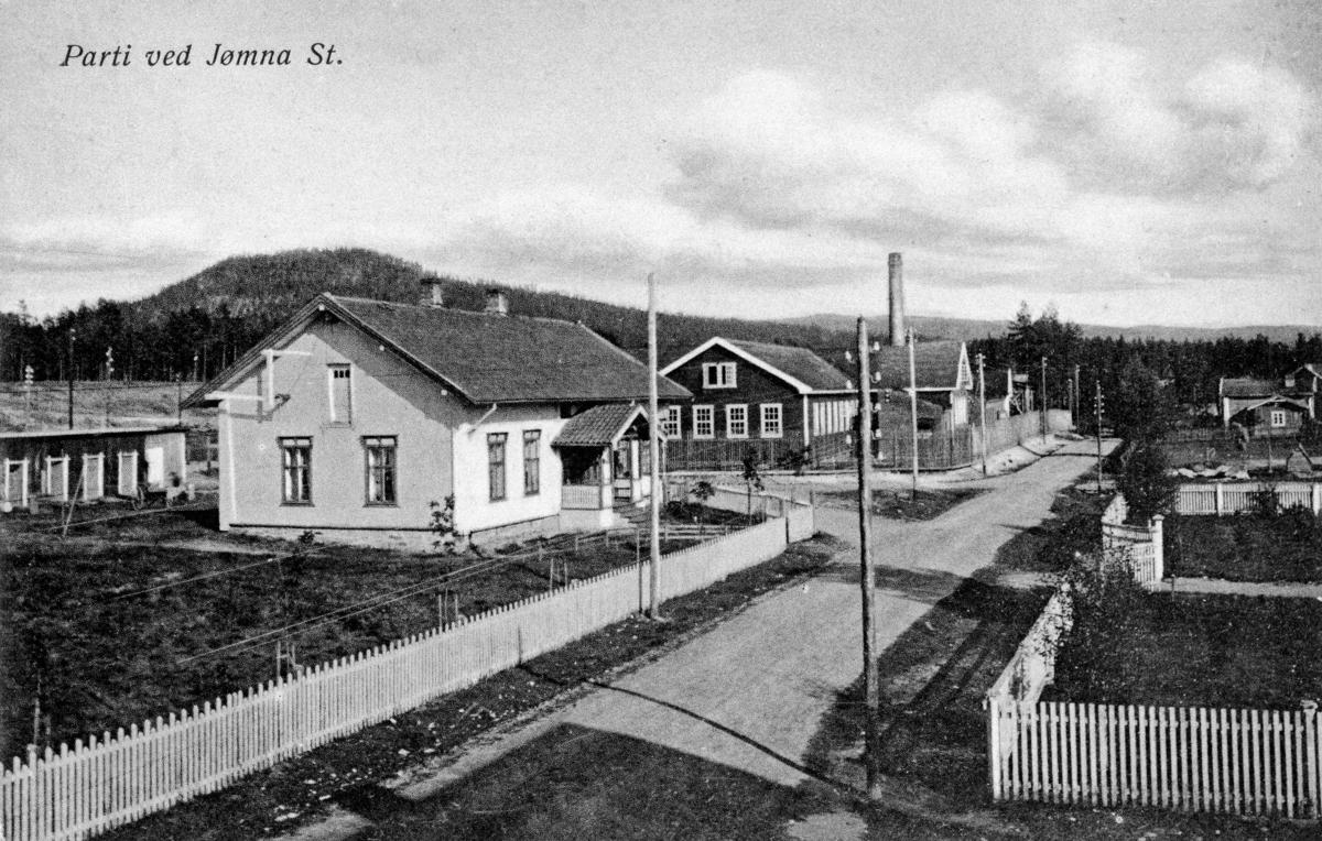 Parti ved Jømna stasjon
