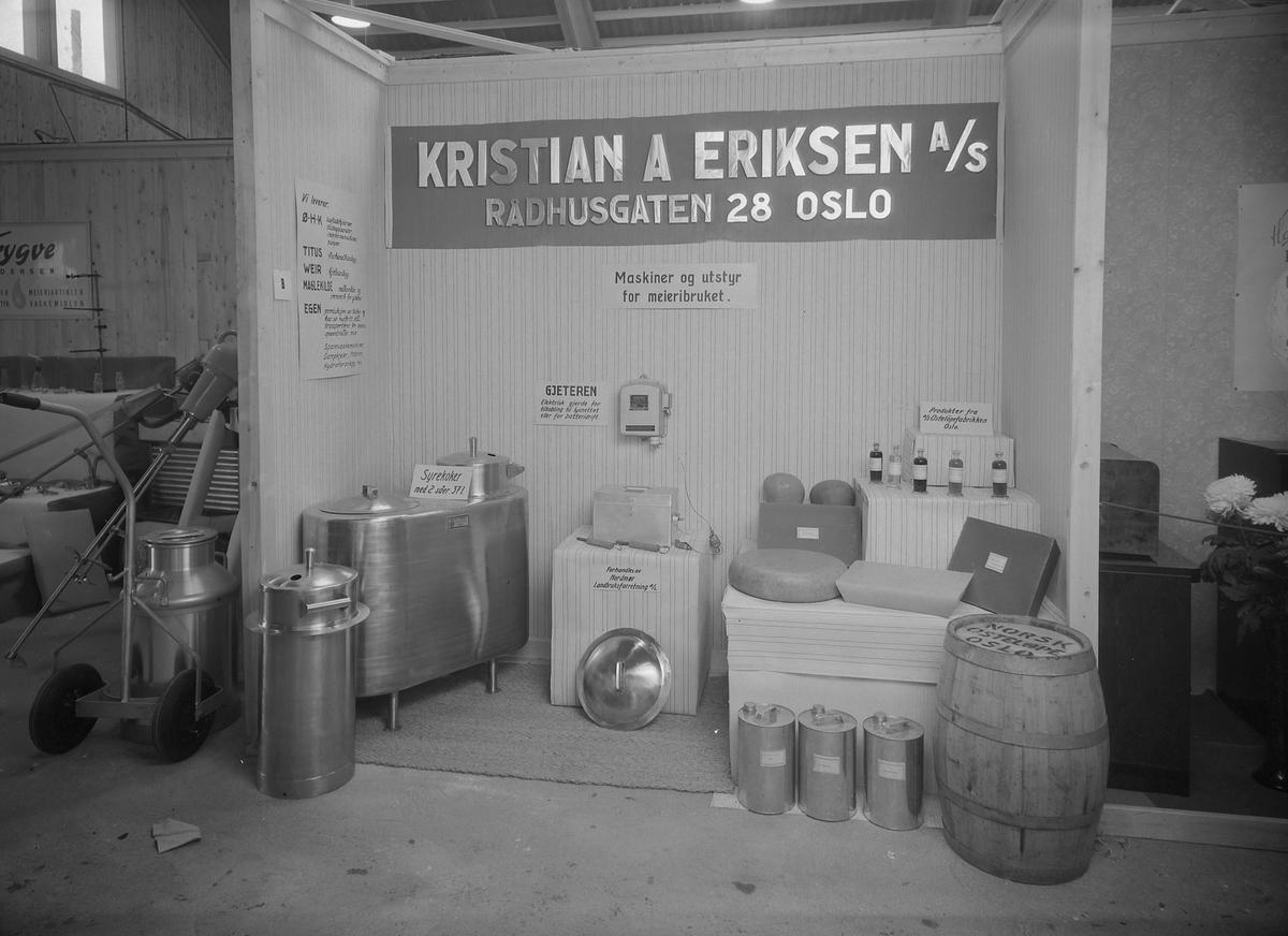 Nordmørsutstillinga i Kristiansund 1950. Kristian A. Eriksen A/S, Oslo