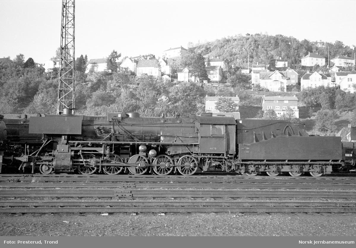 Damplokomotiv type 63a nr. 4839