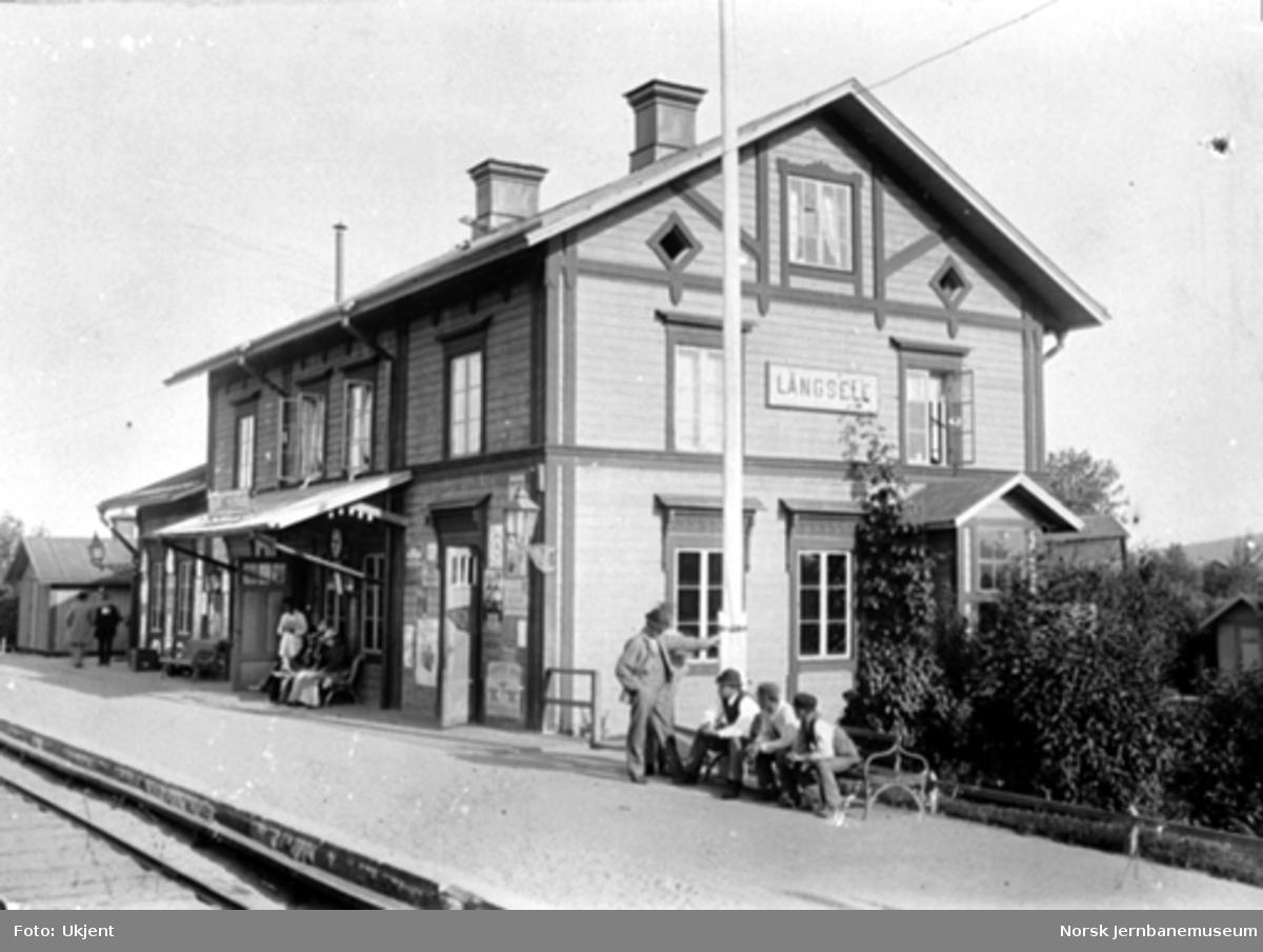 Sverige : Långsele stasjonsbygning