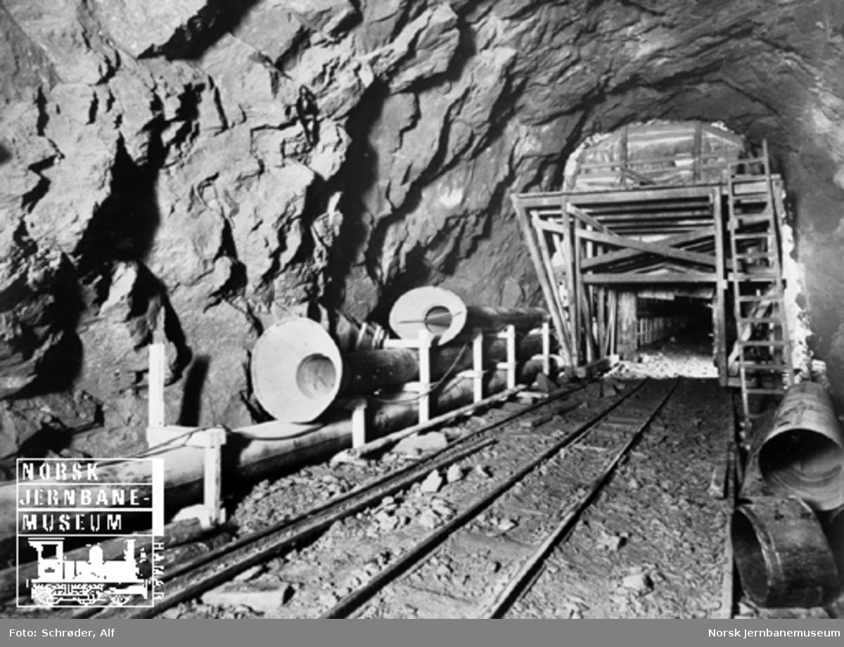 Medjå tunnel : røykkammer