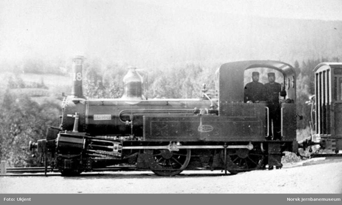 """Damplokomotiv type IV nr. 18 """"Balder"""""""