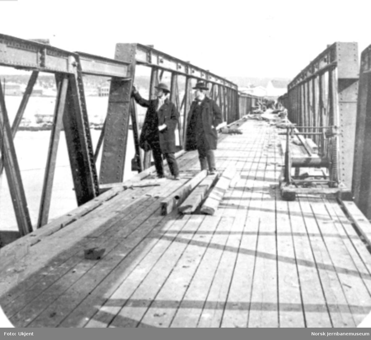 Jernbanens vegbru i Elverum