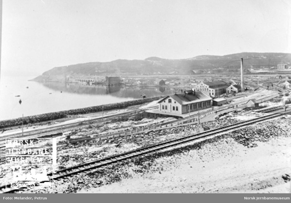 Deler av LKABs anlegg i Narvik