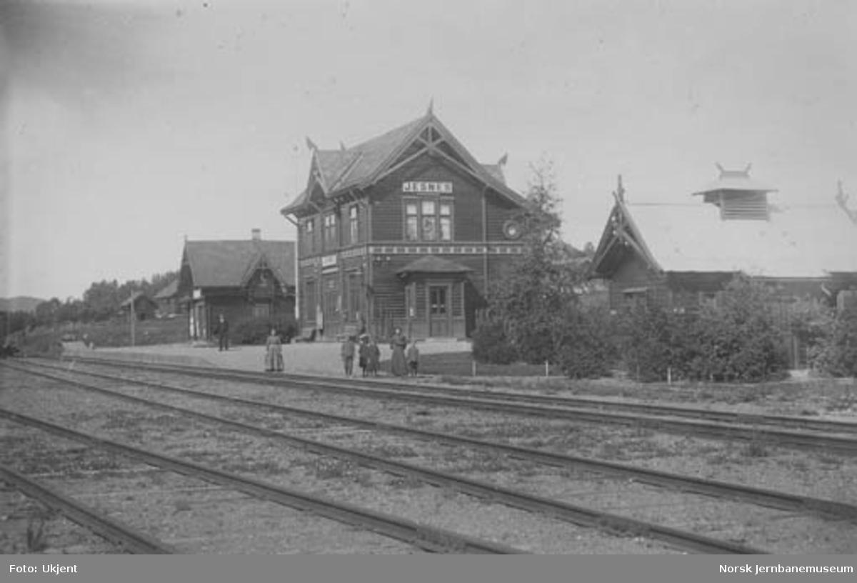 Jessnes (Jesnes) stasjon