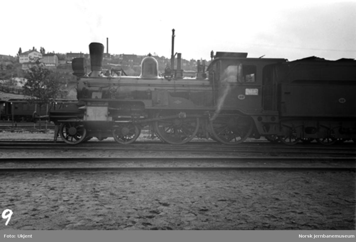 Damplokomotiv type 13b nr. 69 i Lodalen