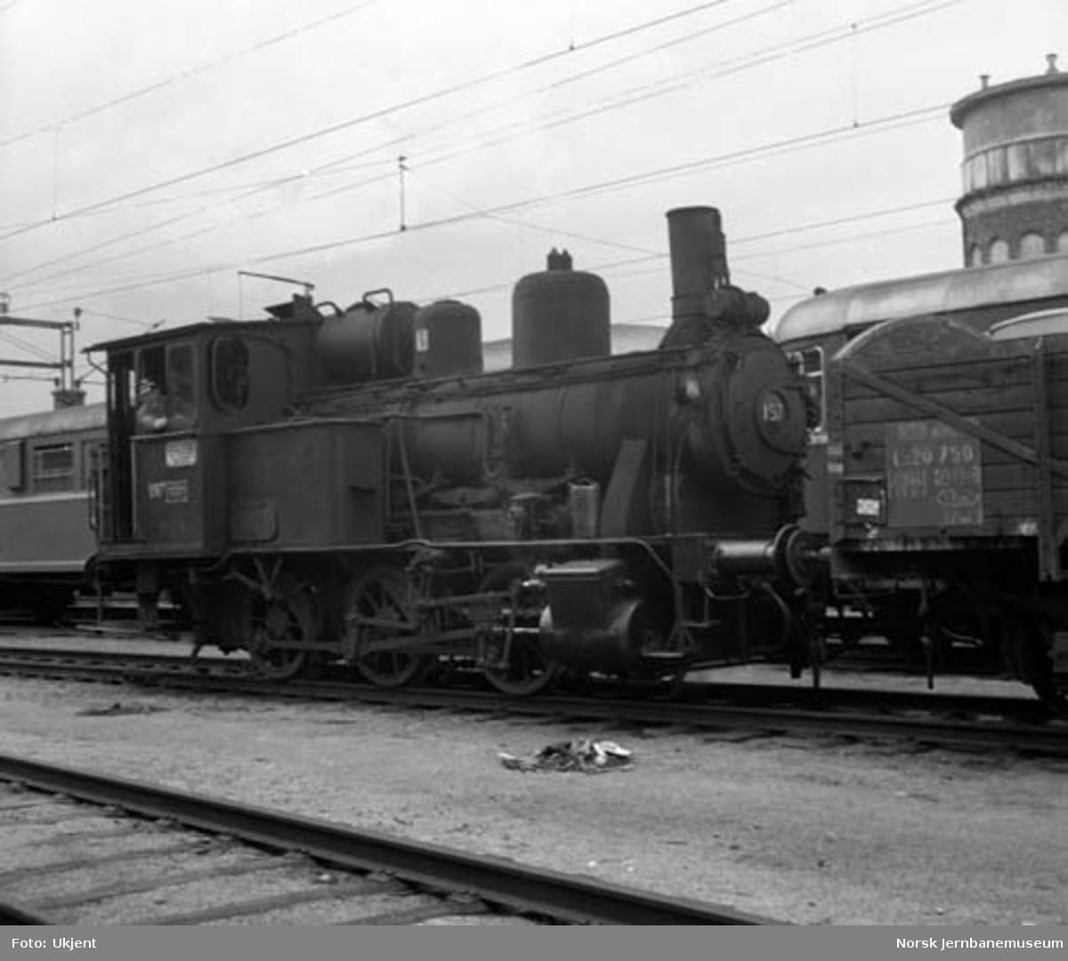 Damplokomotiv type 25a 197