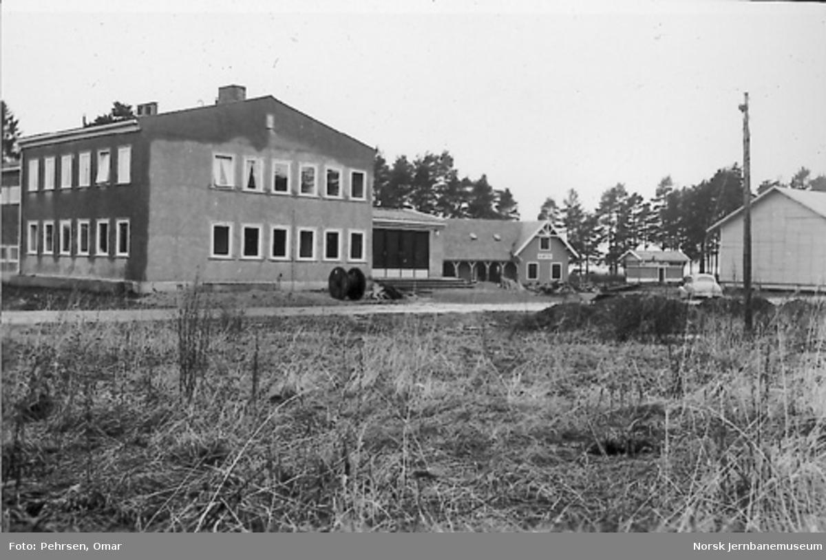 Nytt museum Martodden : Ny museumsbygning, Kløften og deler av vognhallen