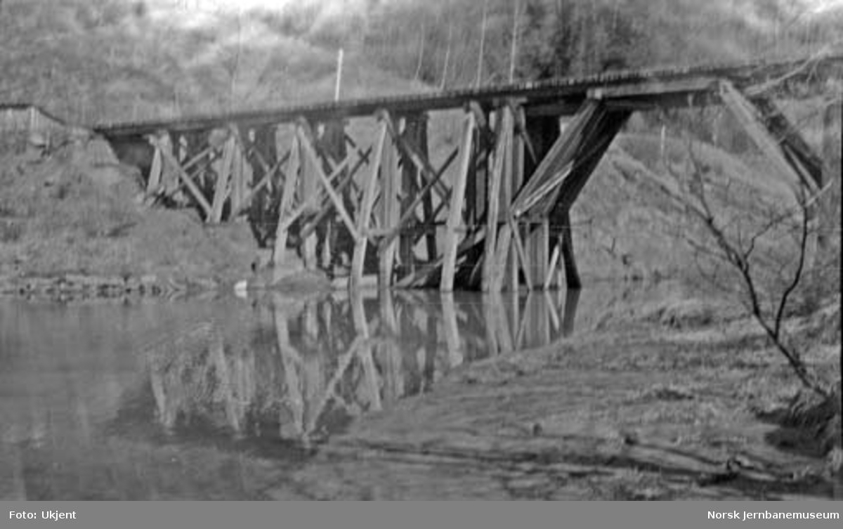 Steinbekken bru på Dunderlandsbanen