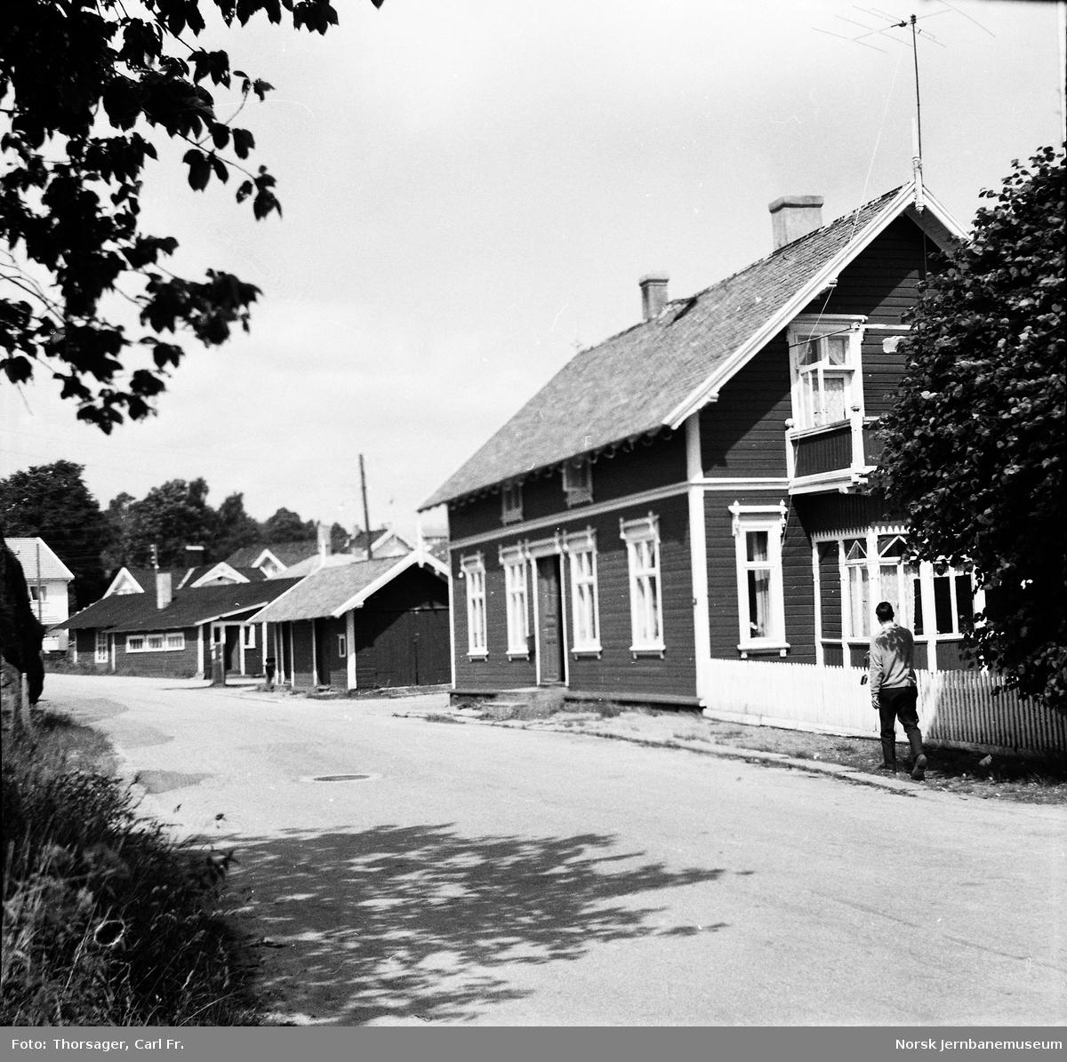 Lillesand tidligere stasjonsbygning