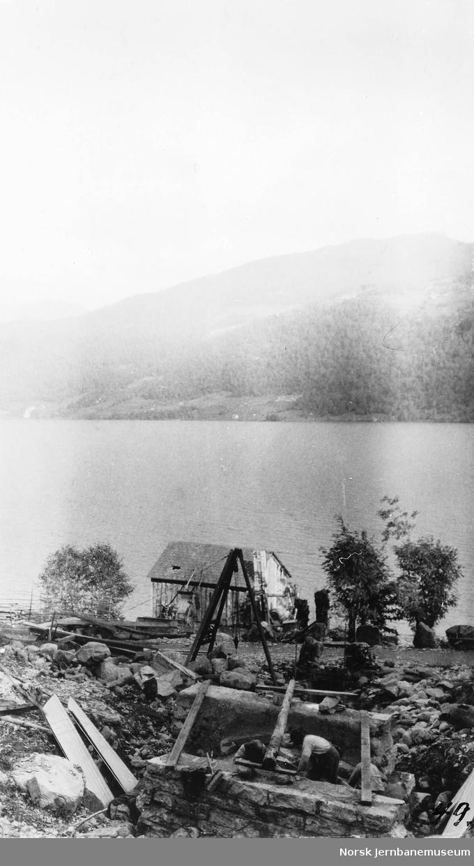 Kulvert ved pel 2384, ved Selland