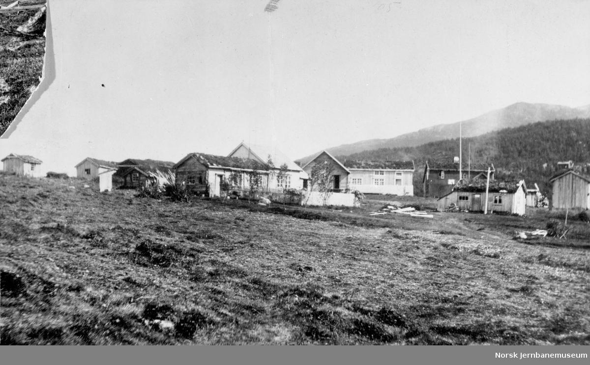 Bebyggelsen i gamle Narvik