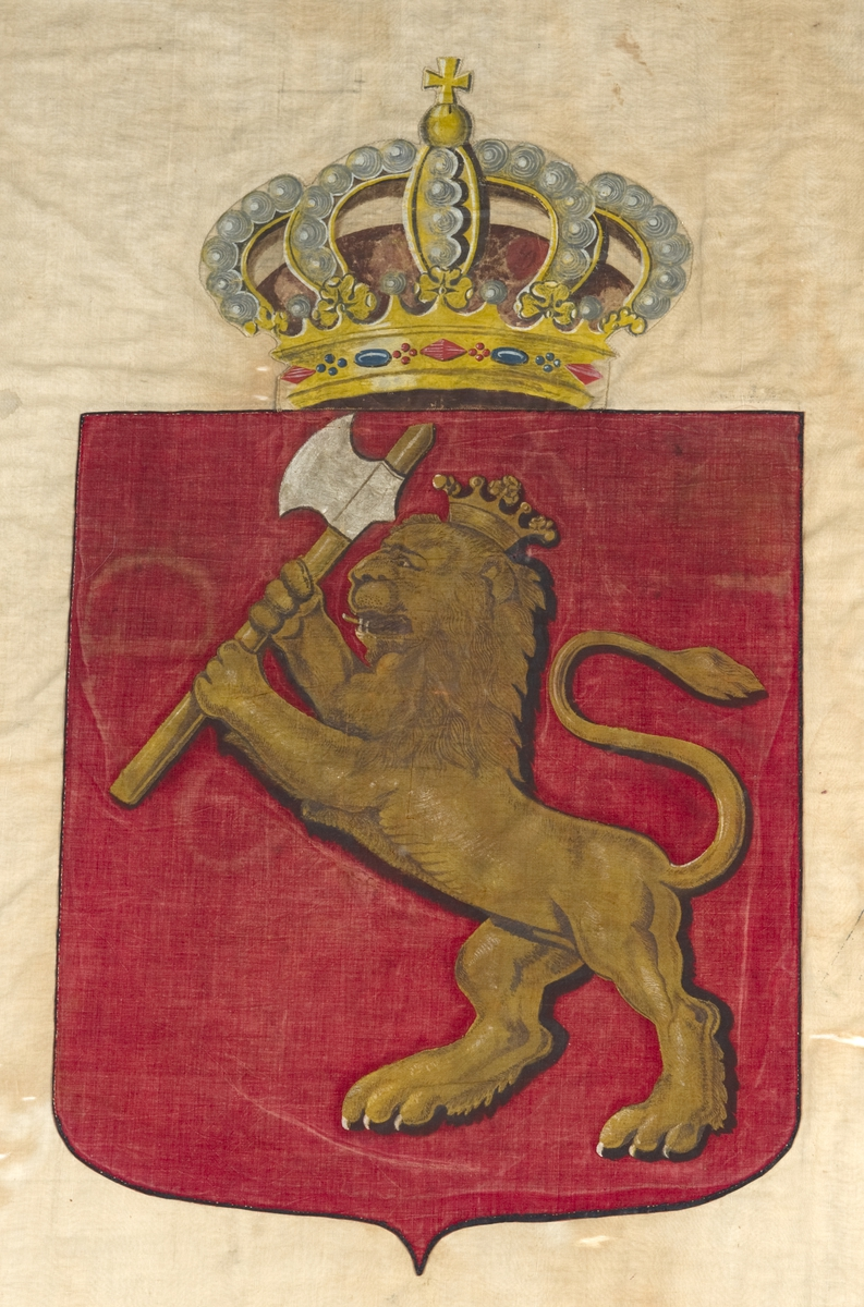Ang. sydd av Camilla Collett og malt av Henrik Wergeland.