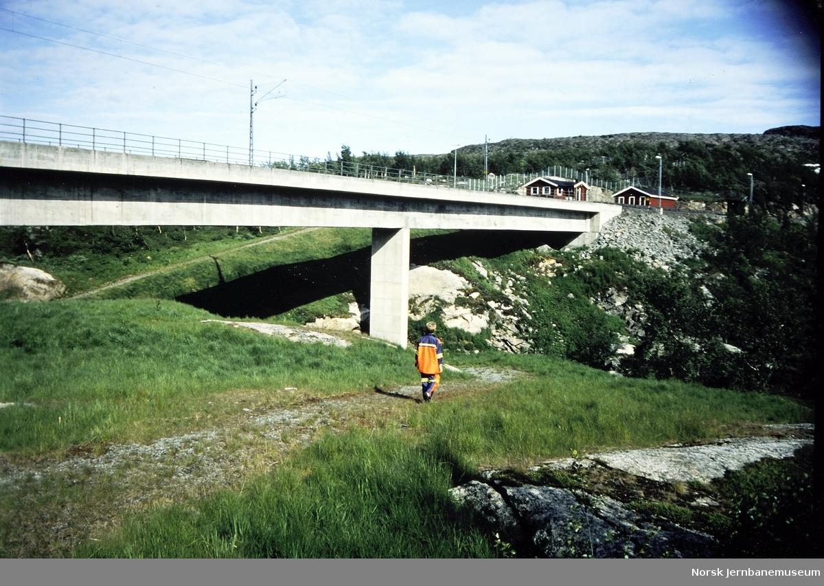 Bru over Norddalen 2 ved Søsterbekk holdeplass