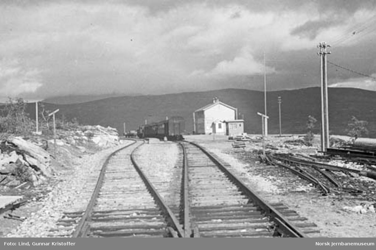 Nordlandsbaneanlegget : Lønsdal stasjon