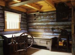 Heddal bygdetun består av to tun, et mektig fra velstående a