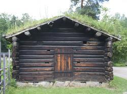 Badstu/tørkehus fra Istad, Volbu
