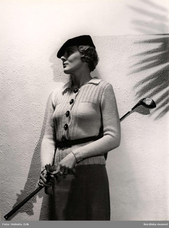 Dammode. Stickat på Nordiska Kompaniet, 21 augusti 1935