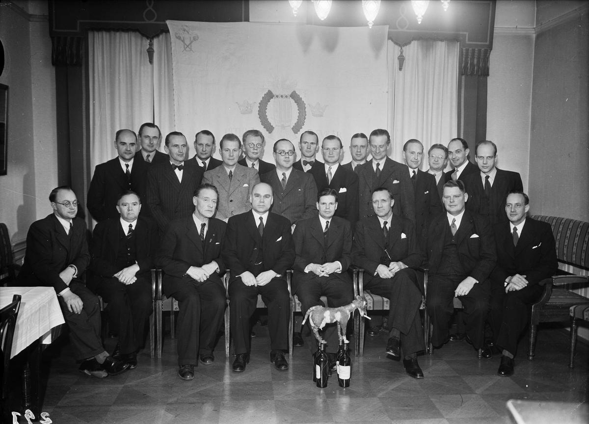 Studentkår, Lantbrukshögskolan, Uppsala 1946