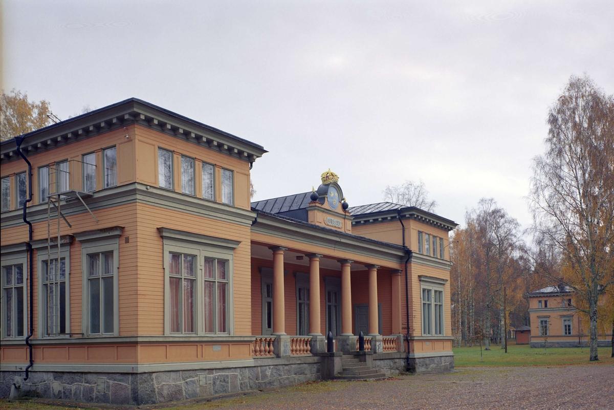 Officersmässen i Marma läger, Älvkarleby socken, Uppland 1992