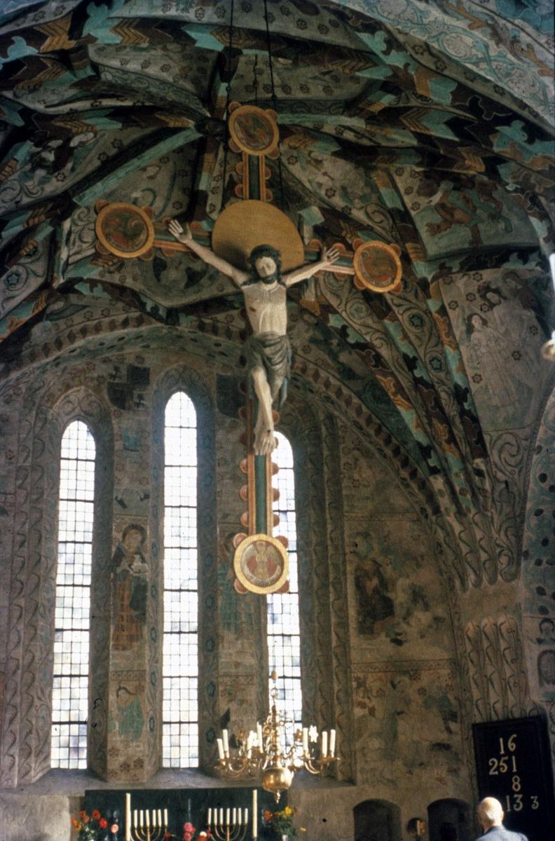 Triumfkrucifix, Härkeberga kyrka, Uppland 1958