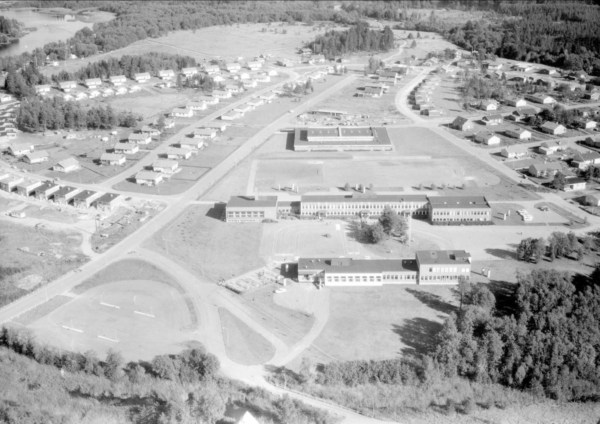 Flygfoto över Skutskär, Älvkarleby socken, Uppland 1967