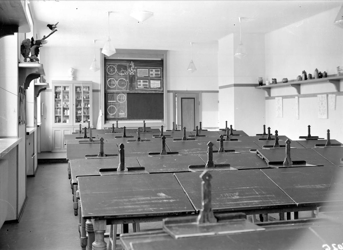 Skolsal, Högre Allmänna Läroverket, Skolgatan, Uppsala