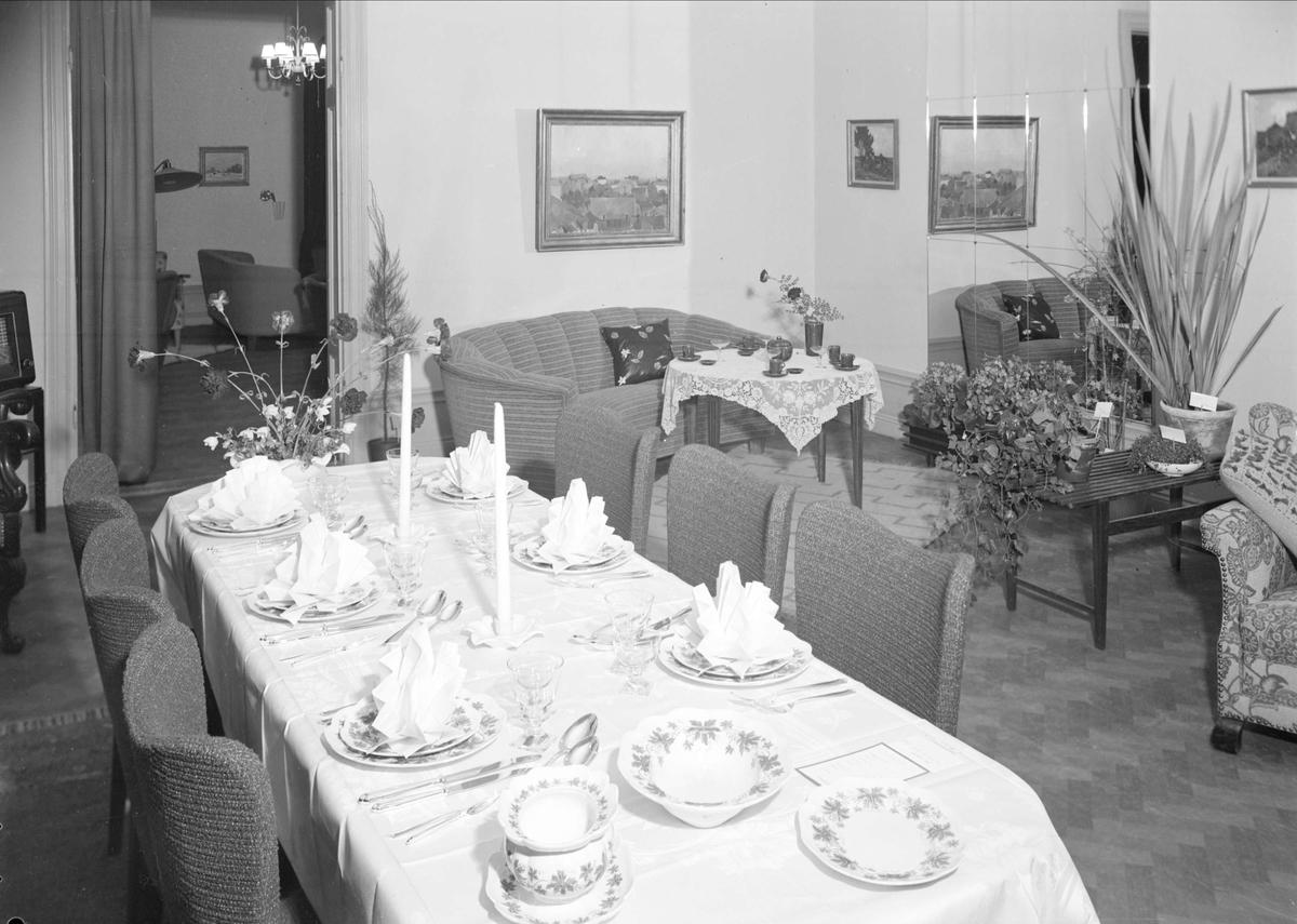 Hemmiljöutställning - Möbelkompaniet Ahl & Walldén, Vaksalagatan, Uppsala 1940