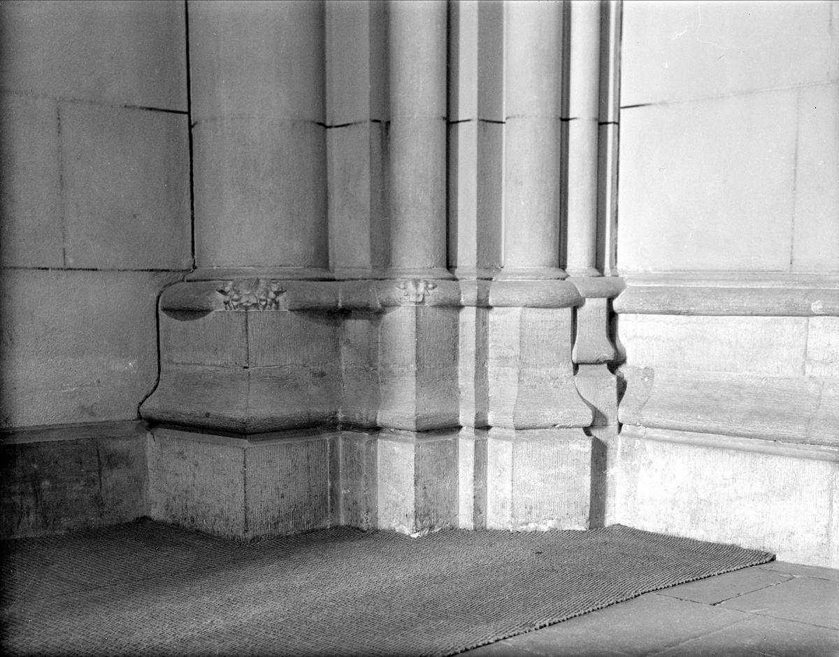 Interiör i Helga Trefaldighets kyrka, Uppsala