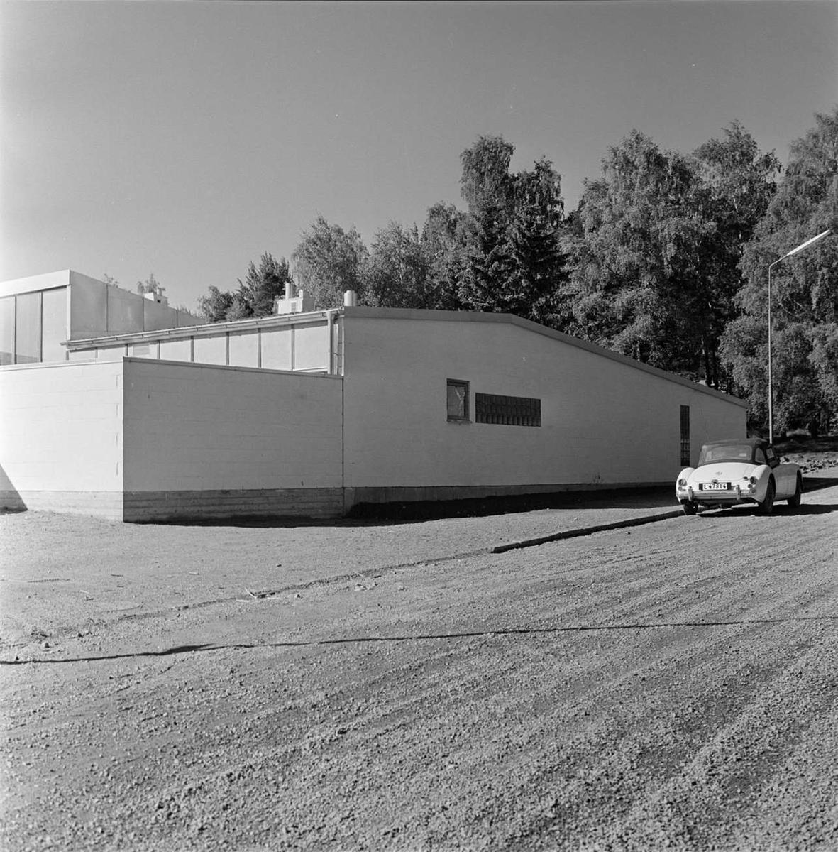 Atriumhusen i Kåbo, Uppsala 1959