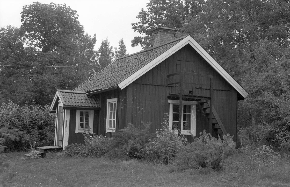 Bostadshus, Lejstugan, Rasbo socken, Uppland 1982