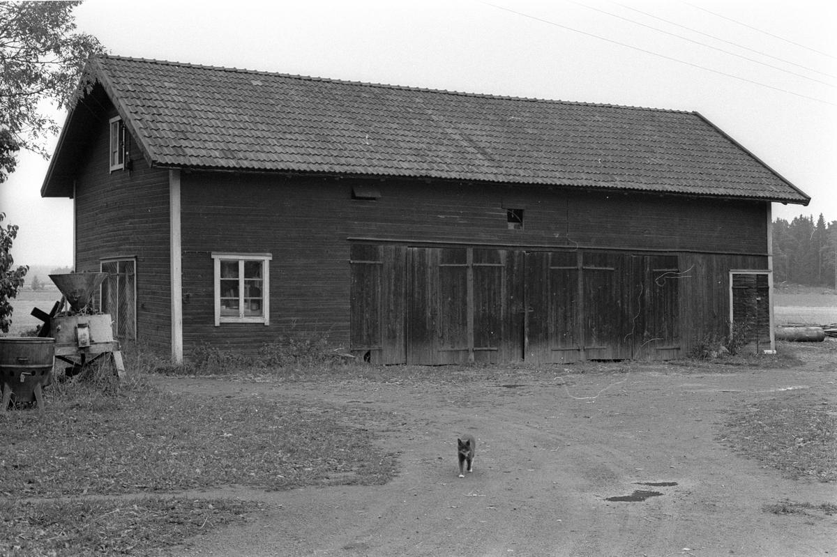 Lider och magasin, Hånsta 1:10 med flera, Hånsta, Lena socken, Uppland 1978