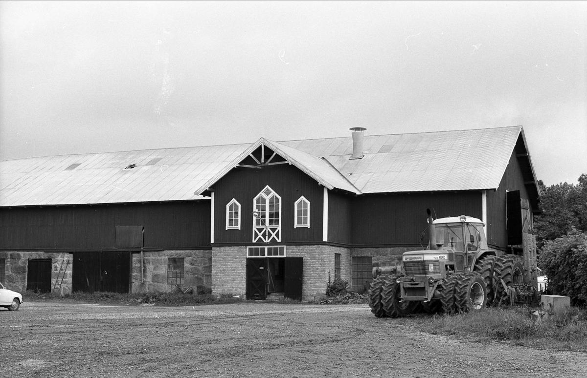 Stall, ladugård och mjölkrum, Henriksberg 7:1, Rasbo socken, Uppland 1982