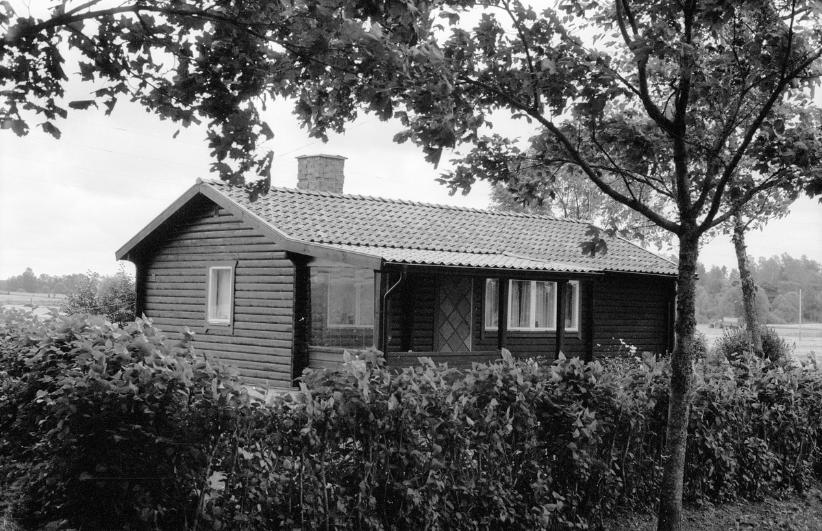 Bostadshus, Ekeby 3:12, Ekeby, Knutby socken, Uppland 1987