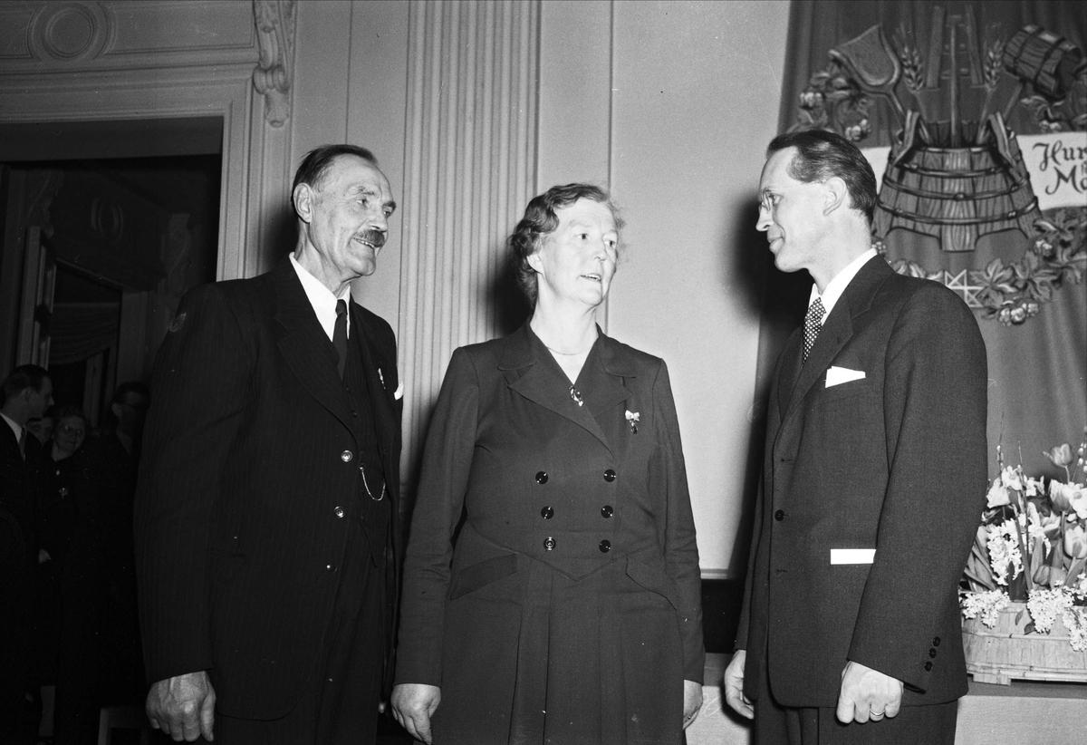 Medaljörer från Upsala Bayerska Bryggeri AB, Uppsala mars 1951