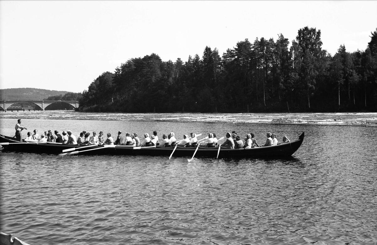 Kyrkbåt i Dalälven, Dalarna