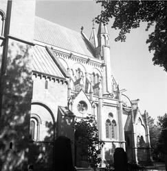 Nidarosdomen i Trondheim, Norge 1947