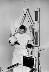 Invigning av landstingets nya tandklinik, Uppsala 1952